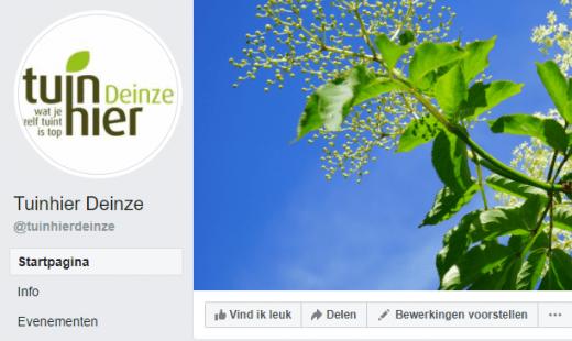 Facebook-Tuinhierdeinze