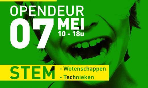 Affiche Opendeur tuinbouwschool Kortrijk